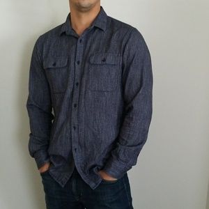 Marc Anthony Denim look Button up